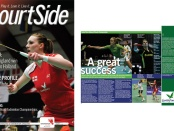 Courtside magazine